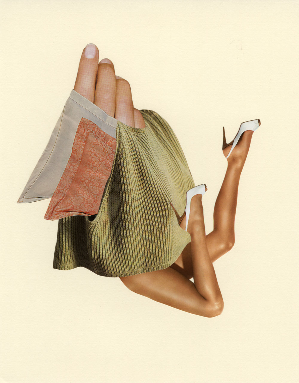Back Breaker,  2014, Collages