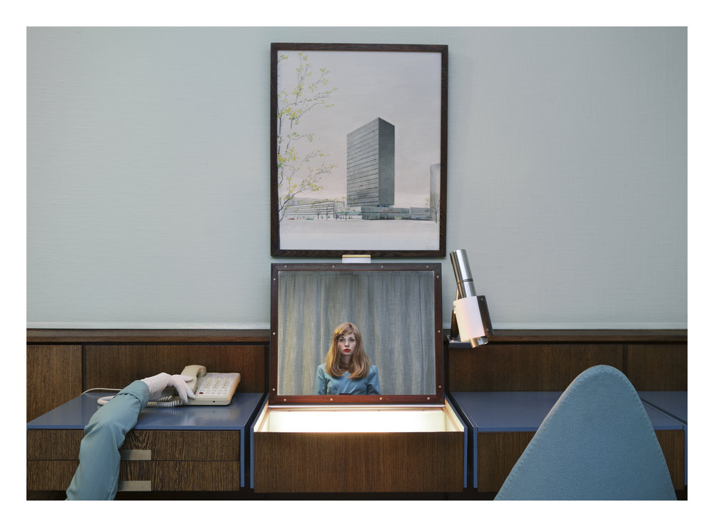 © Anja Niemi,  The Receptionist  2013, Courtesy of The Little Black Gallery (London)