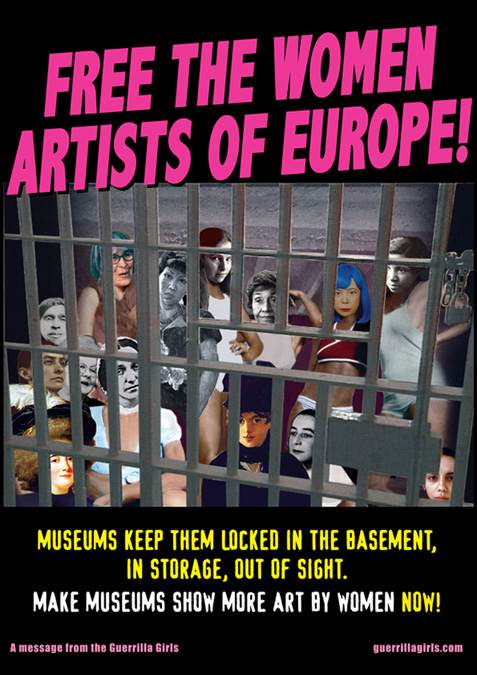 Free the Women Artists, 2011 © Guerrilla Girls