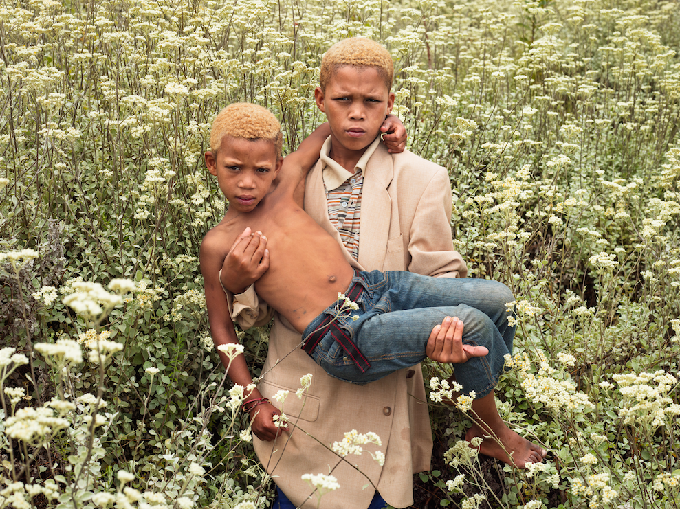 Pieter Hugo From the series 1994 Portrait #16, South Africa, 2016 Digital C-Print © Pieter Hugo, Courtesy Yossi Milo Gallery, New York
