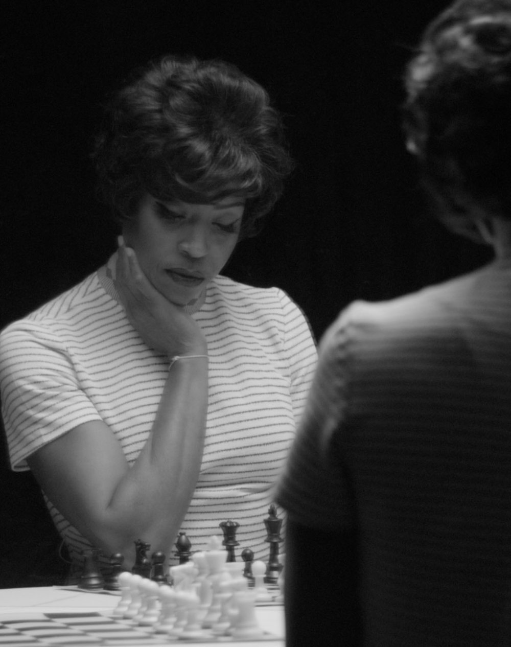 Lorna Simpson, still from her film  Chess,  2013