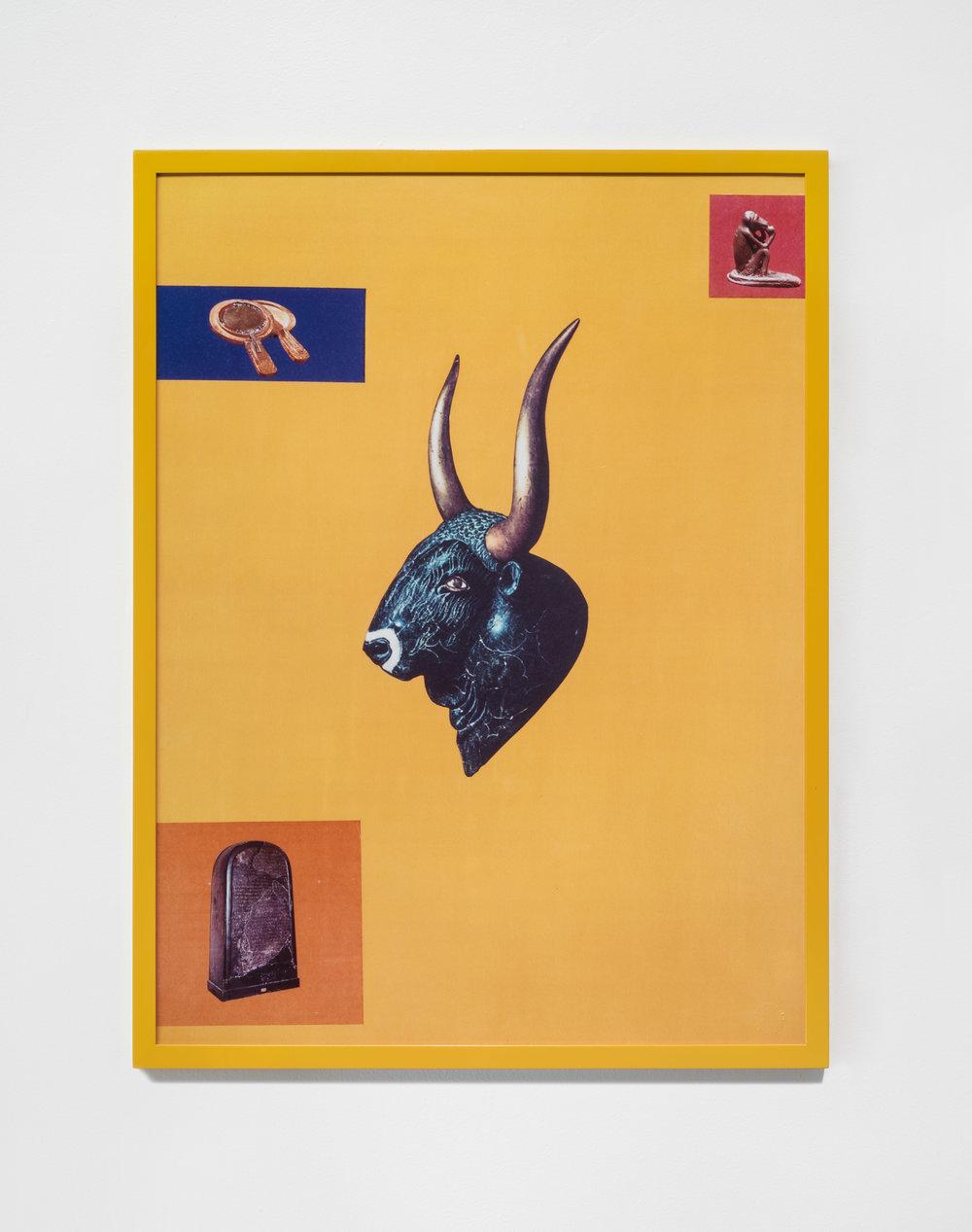 Bull , 1986 © Sarah Charlesworth