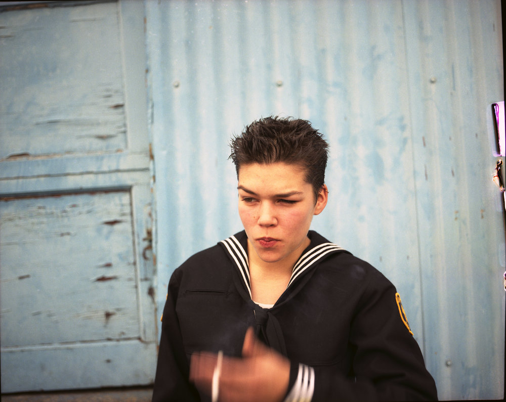 Collier Schorr. Smoke, 1998