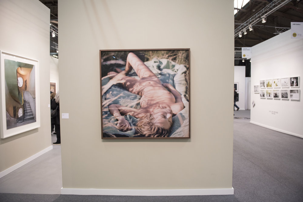 Mona Kuhn, with Edwynn Houk Gallery Booth 400. © Hallie Neely