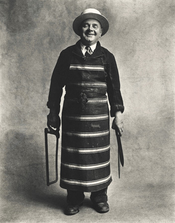 Image courtesy of Pace/MacGill Gallery Irving Penn Butcher