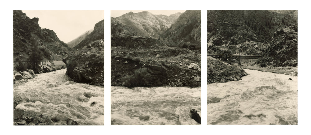 Devils Gate triptych #1, 1995