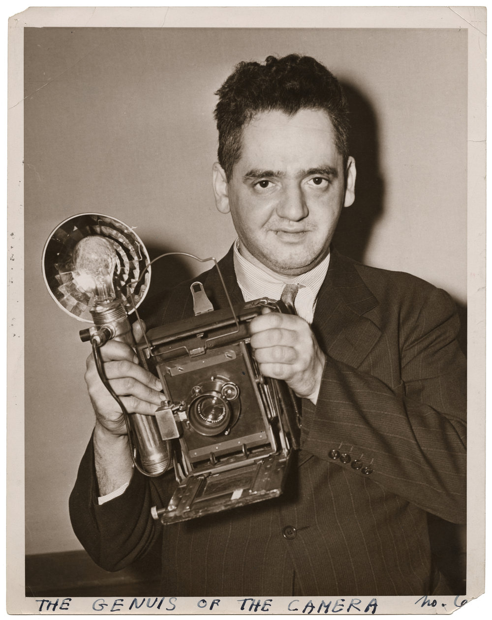 Weegee, The Genius of the Camera, ca. 1938. © International Center of Photography/Getty Images, Courtesy International Center of Photography, New York