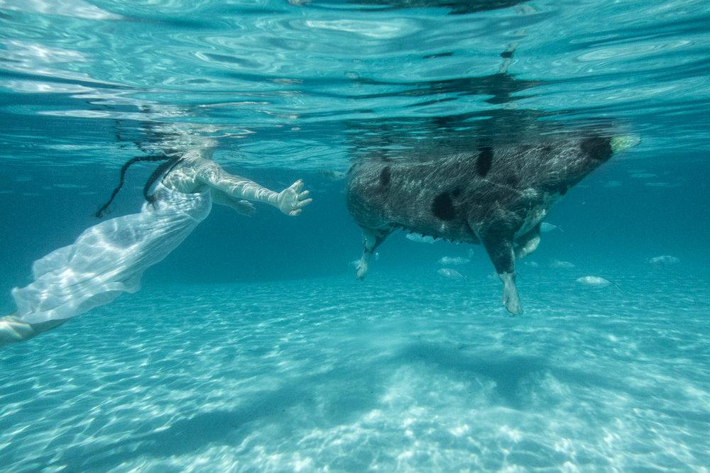 © Robin Schwartz, Swimming Teenagers