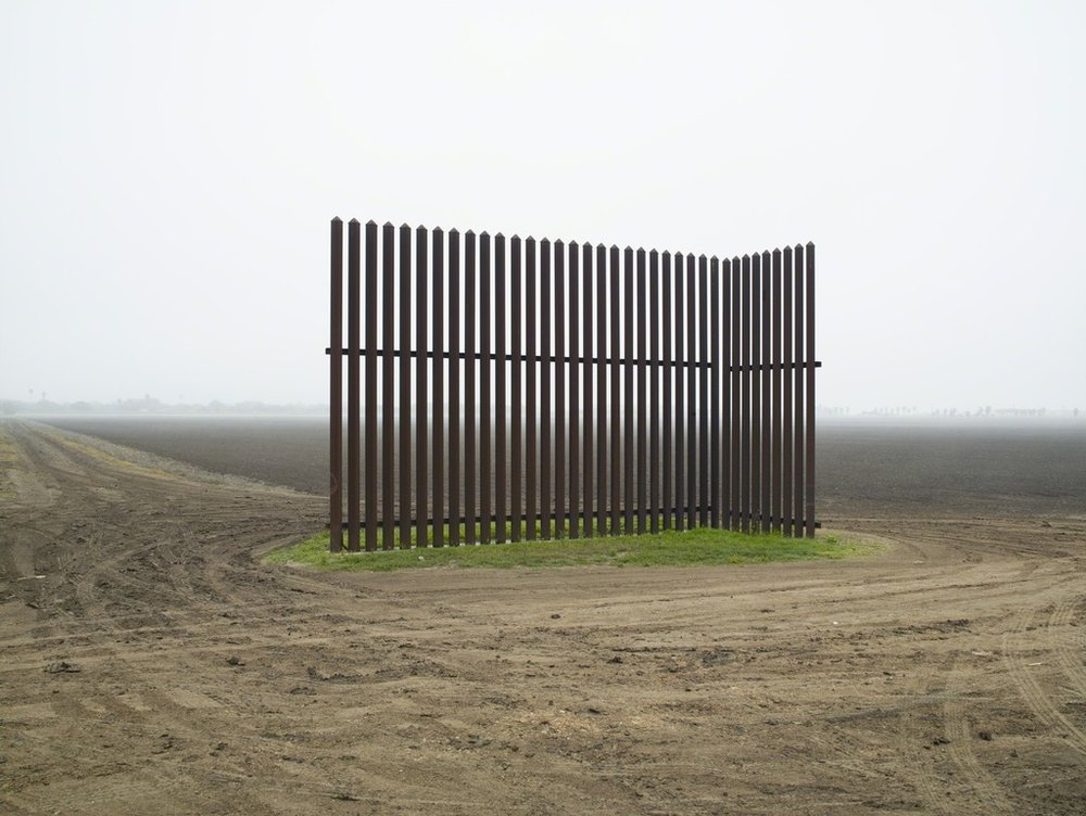 Wall, Los Indios, Texas, 2015 / El muro, Los Indios, Texas, 2015  , 2015 Pigment print mounted to Dibond 60 × 80 in 152.4 × 203.2 cm Edition of 5 + 1AP
