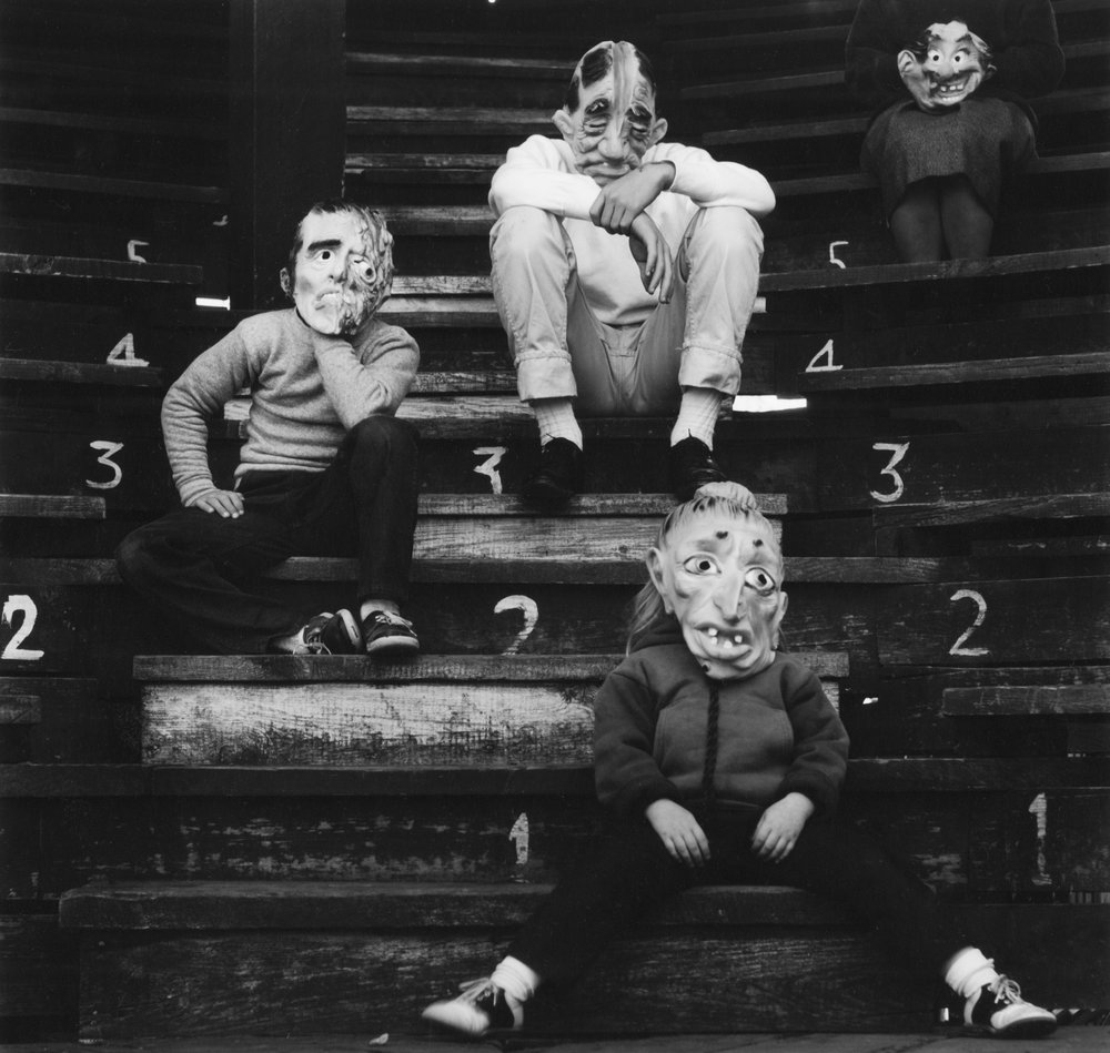 © Ralph Eugene Meatyard, Untitled, 1957-58 Ralph Eugene Meatyard, Romance (N.) from Ambrose Bierce # 3 , 1962