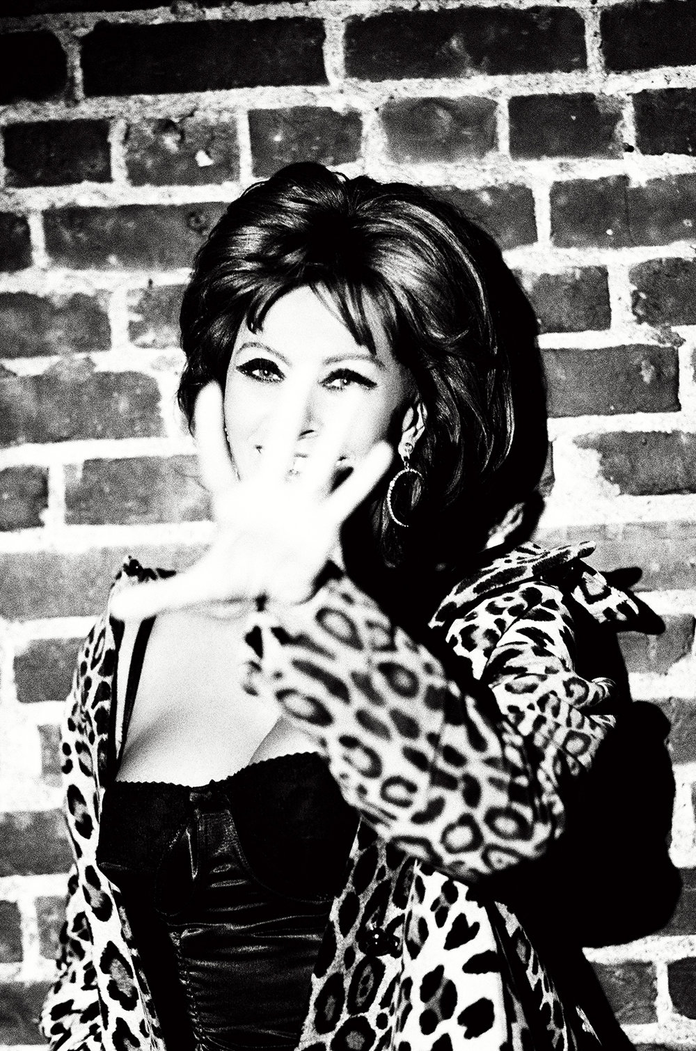 Ellen von Unwerth,  Sophia Loren , New York, 1996  Courtesy Staley-Wise Gallery