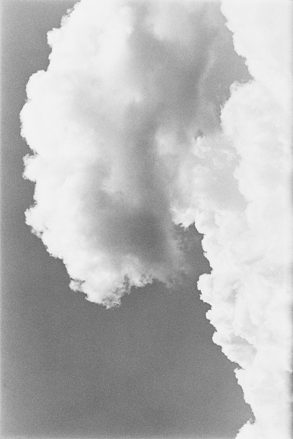 Cumulonimbus  (1986) from  T he Last Cosmology    (2015) by Kikuji Kawada, published by MACK   mackbooks.co.uk