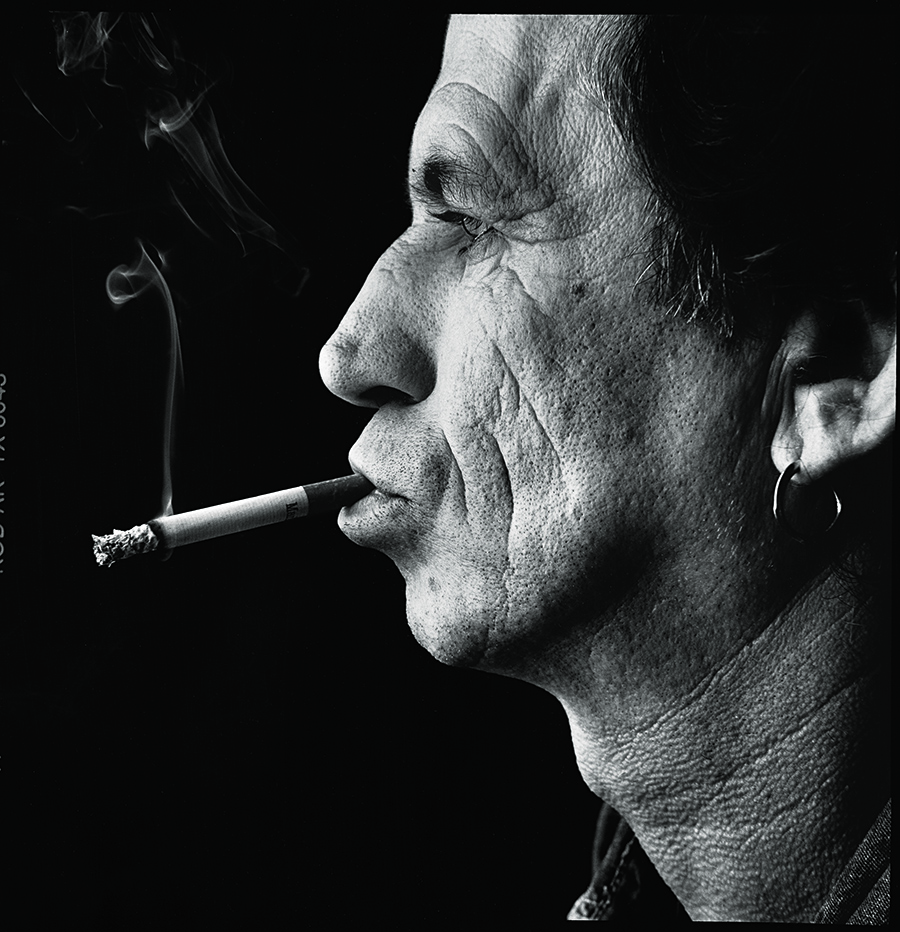 Keith_Richards London 1995 © Steve Pyke