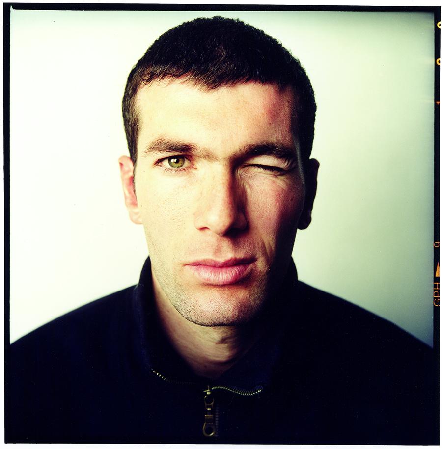 Zinedine Zidane-Nov 1998-Turin © Steve Pyke