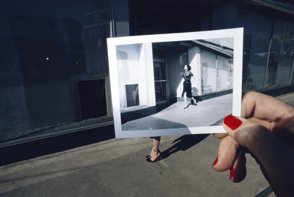 Guy Bourdin, Charles Jourdan, Spring 1978.