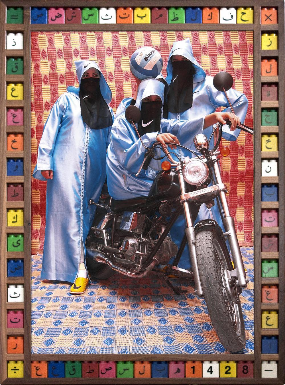 'Nikee Rider' ©Hassan Hajjaj
