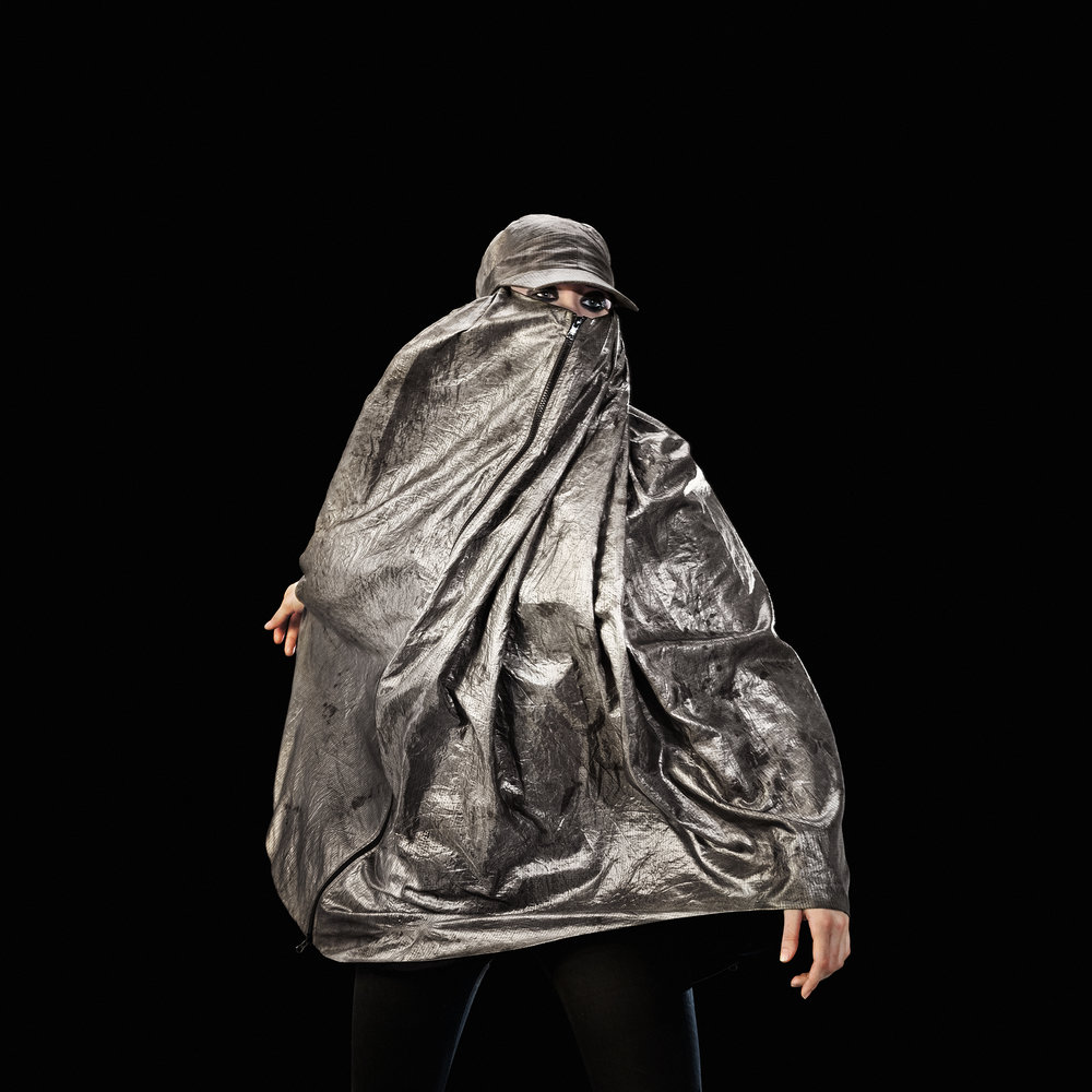 'Anti Drone Burka' 2013  © Adam Harvey