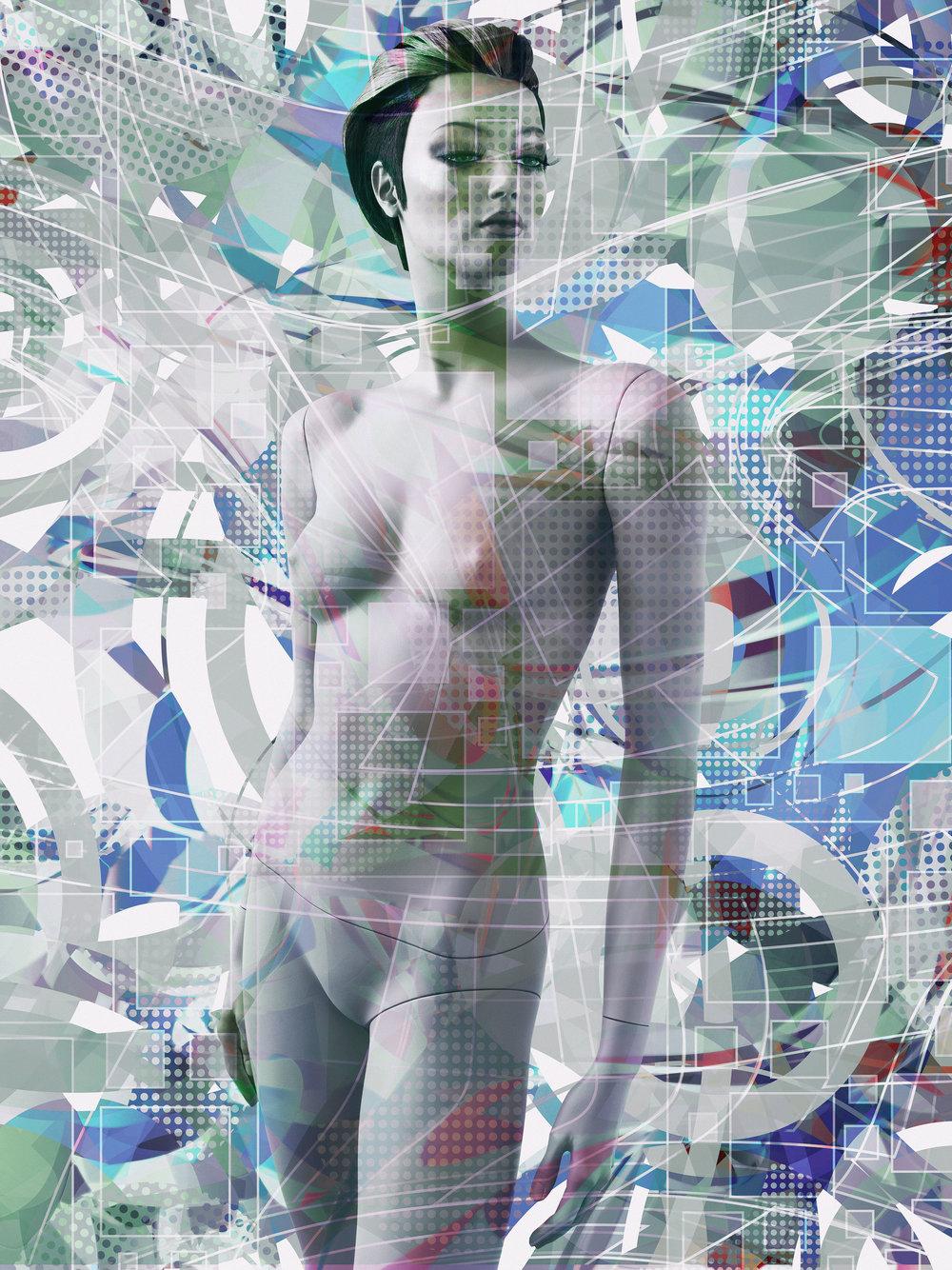 'Junita'2015 © Valérie Belin