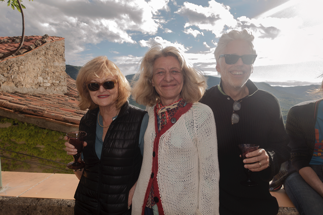 The three mentors (from left to right): Elisabeth Biondi, Martine Fougeron, Lyle Rexer
