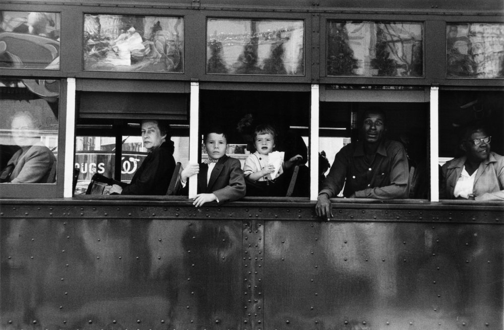 Trolley, New Orleans, 1955. From The Americans.   © Robert Frank