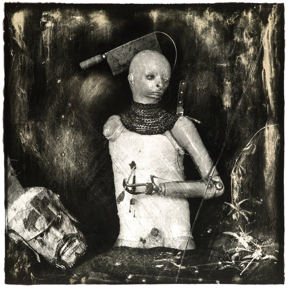 ©Joel Peter-Witkin, Un Santo Oscuro, LA, 1987.