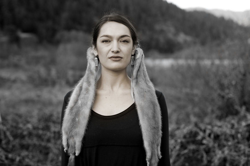 Sinéad Talley (Karuk and Yurok), 2017 © Matika Wilbur.