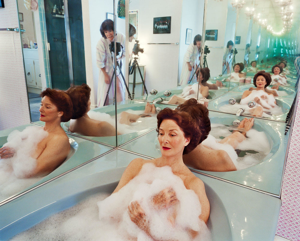 "Mum in her bathtub , Washington D.C. , 2002 © Sage Sohier 28 x 35"" image on 35 x 42"" paper"