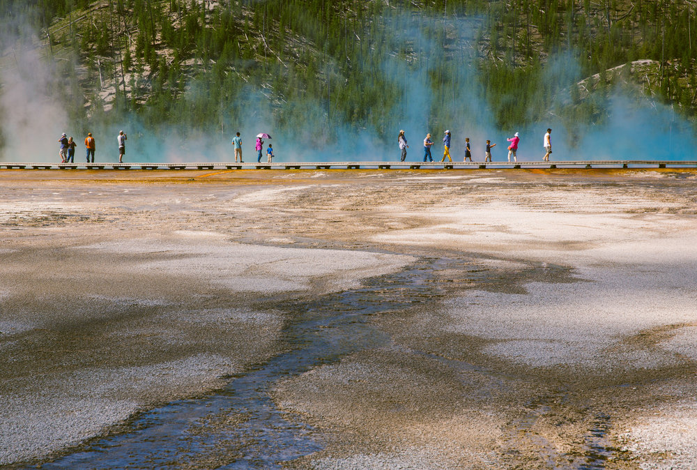 Grand Prismatic Spring, Yellowstone  © Jennifer Emerling