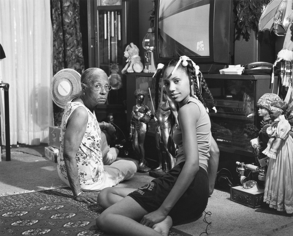 LaToya Ruby Frazier,  Grandma Ruby and Me , 2005, from  The Notion of Family  (Aperture, 2014)