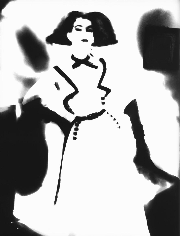 Dress by Jacques Fath for Joseph Helpert, Barbara Mullen, New York, Harper's Bazaar, March 1950_1994