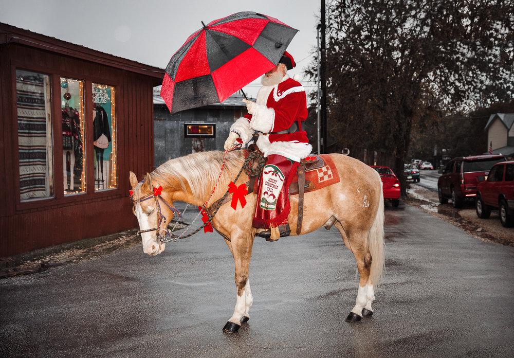 Cowboy Cringle.  Gruene, TX . 2016 Gruene General © Jesse Rieser