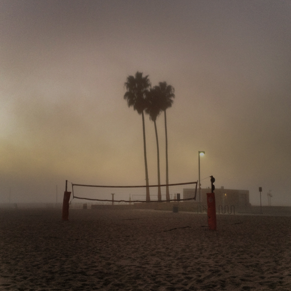 Fog, Santa Monica, CA, USA. October 29, 2012, 6:20:58pm  Latitude: 34°1'28''N, Longitude: 118°30'49''W  © Robert Herman