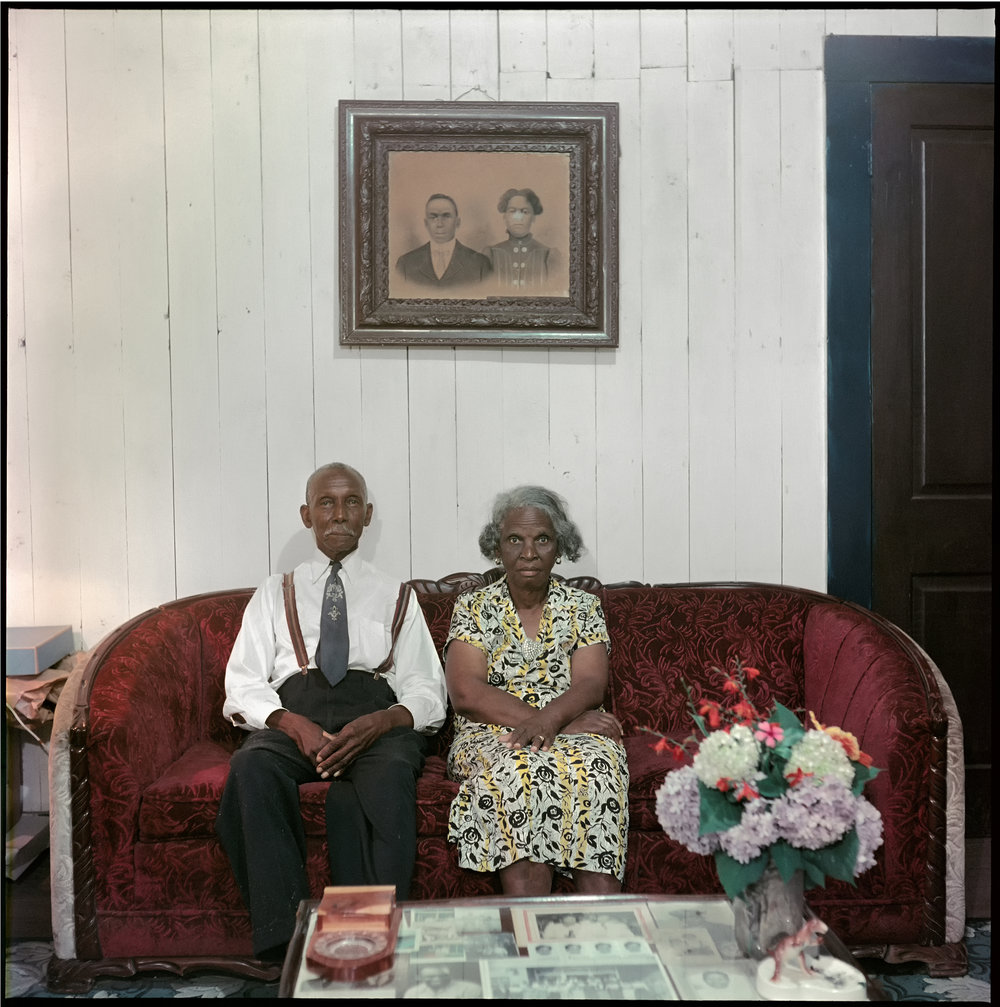 Mr. and Mrs. Albert Thornton, Mobile Tennesse, 1956