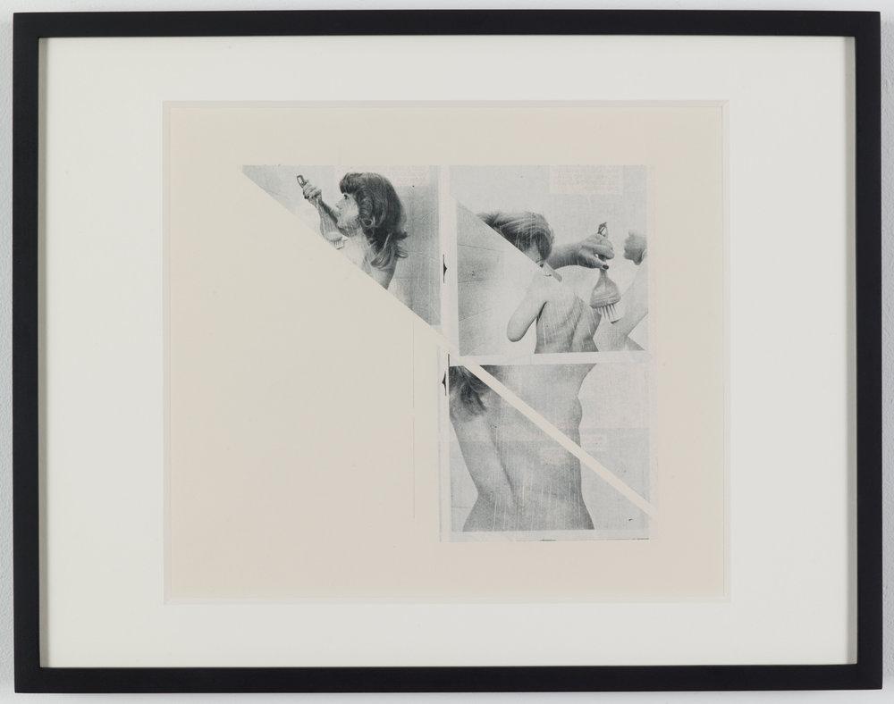 The Voyeur lll (Photoroman), 1977-78, Collage © John Stezaker & Petzel Gallery