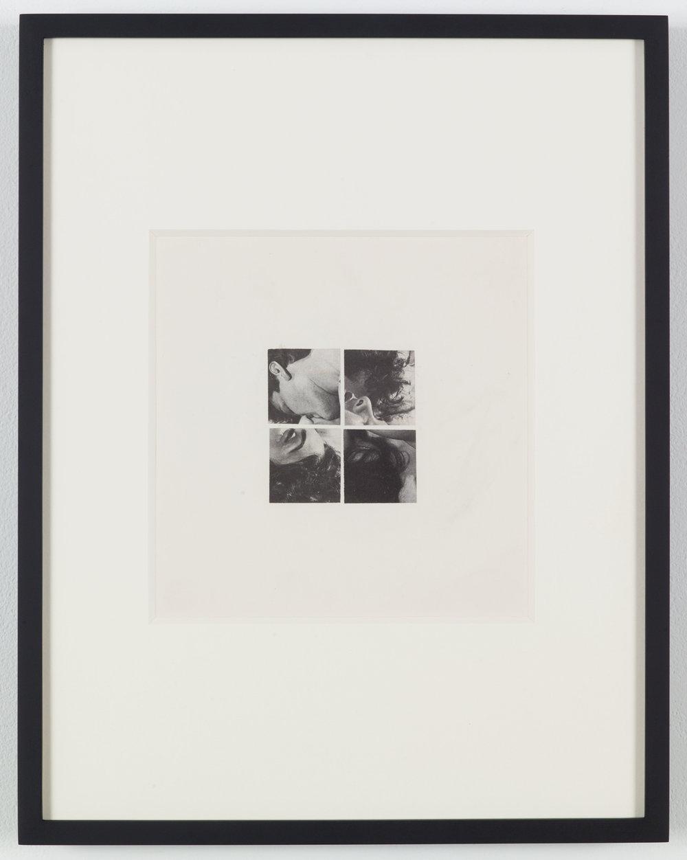 The word made flesh lll (Photoroman), 1977-78, Collage © John Stezaker & Petzel Gallery