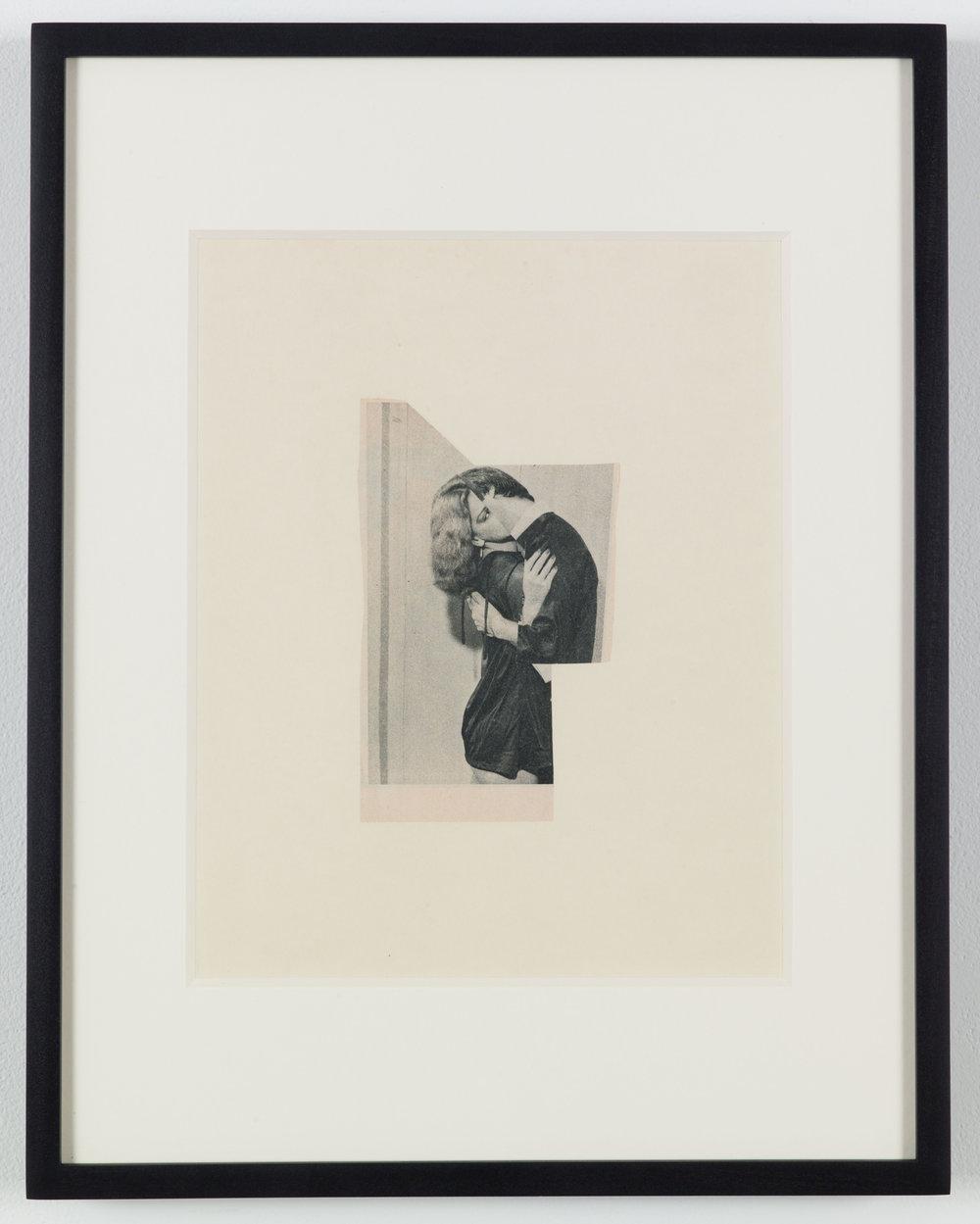The Voyeur 1 (Photoroman), 1976, Collage © John Stezaker & Petzel Gallery