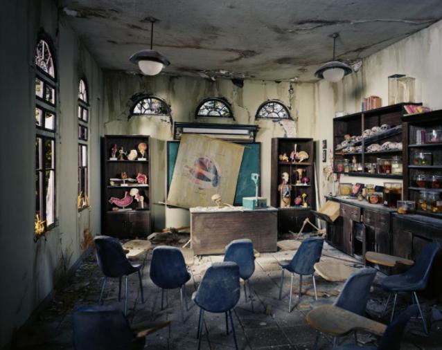 Anatomy Classroom, 2012 © Lori Nix