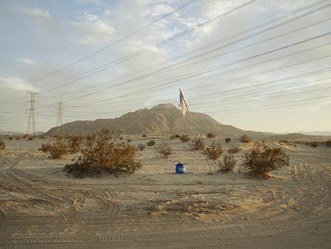 Richard Misrach,  Agua #10, near Calexico, California , 2014.