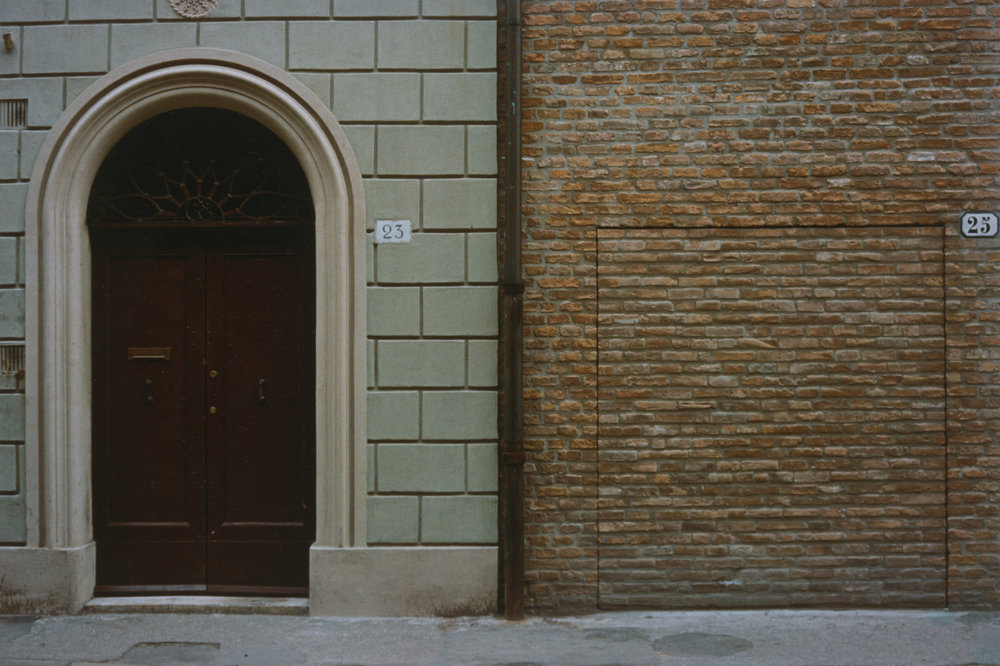 Luigi Ghirri, Ferrara from the series Topographic-Iconographic, 1981. © The Estate of Luigi Ghirri, courtesy of Matthew Marks Gallery