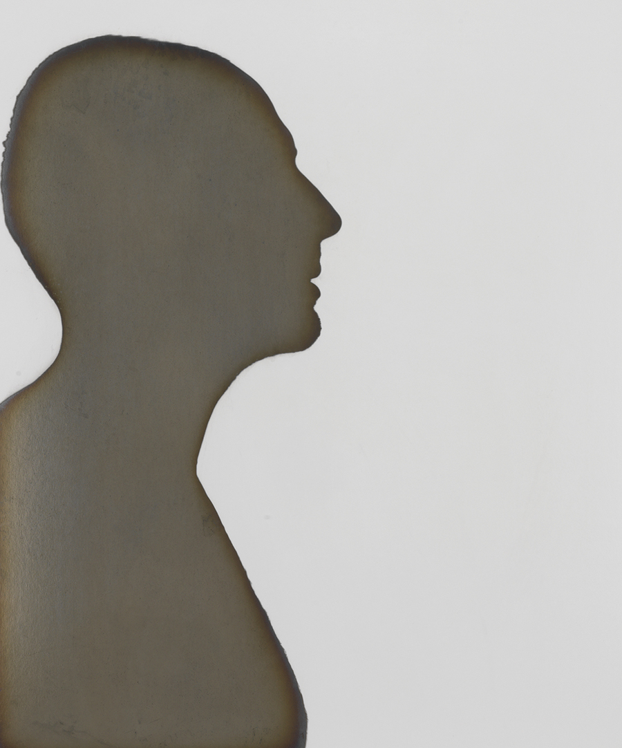 Adam Fuss (American, born in England, b. 1961) Untitled silhouette, 1997. Courtesy of Hans P. Kraus Jr. Fine Photographs.