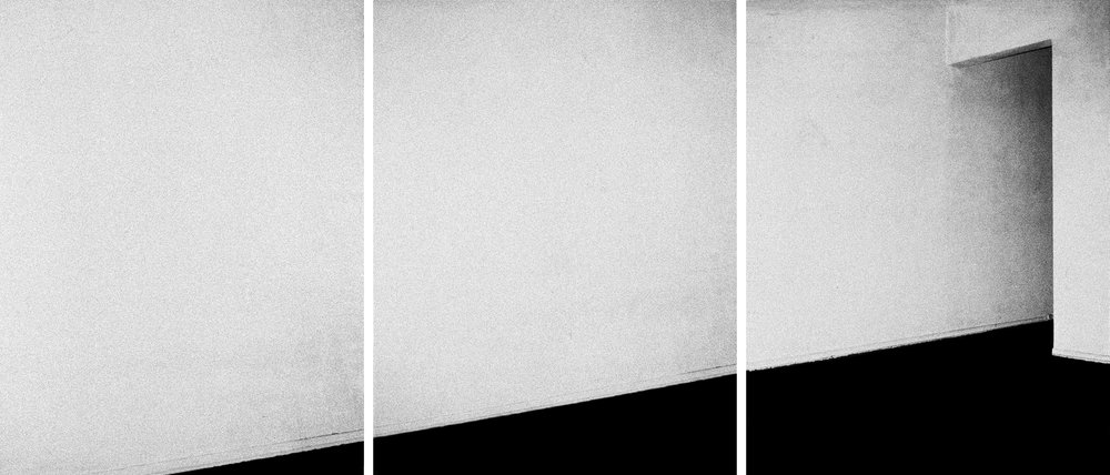 The Hollywood Suites Triptych #4 , 1976  ©  Steve Kahn