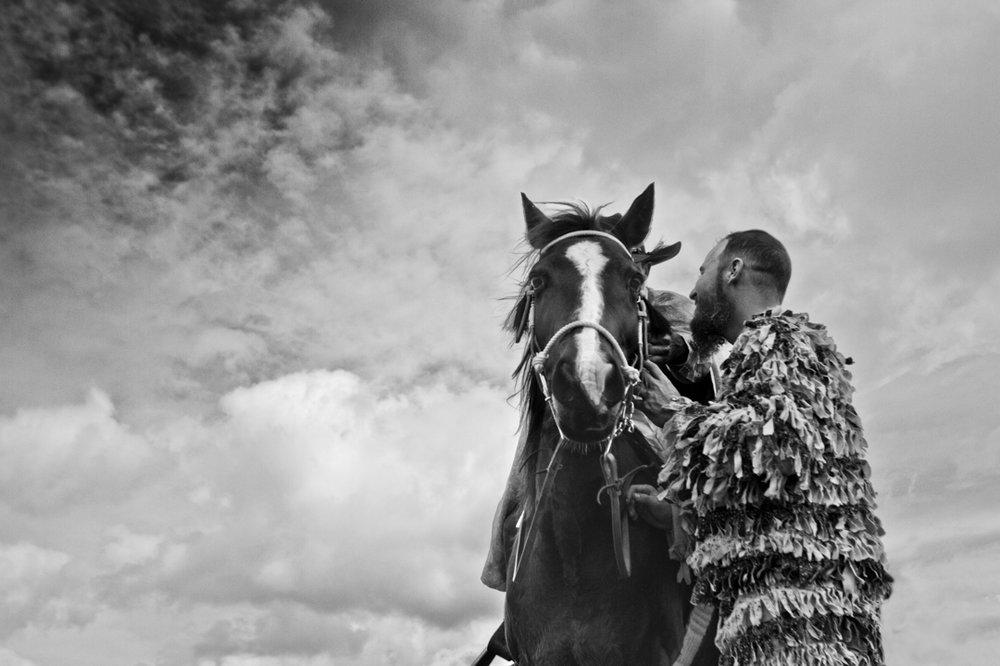 Cheval et les Hommes  © Lucius A. Fontenot