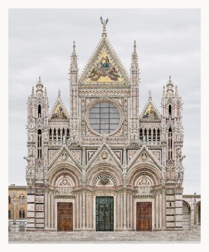 Markus Brunetti,  Siena, Cattedrale di Santa Maria Assunta , 2008-2017, Archival Pigment Print,© Markus Brunetti, Courtesy Yossi Milo Gallery, New York