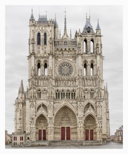 Markus Brunetti,  Amiens, Cathedrale Notre-Dame , 2009-2016, Archival Pigment Print,© Markus Brunetti, Courtesy Yossi Milo Gallery, New York