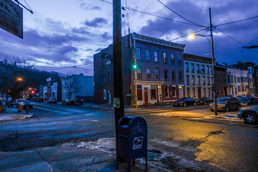 Michael_ Bach_ Corner of Fourth Street and Adams Street, Troy, New York, February 2018  (1 of 1).jpg