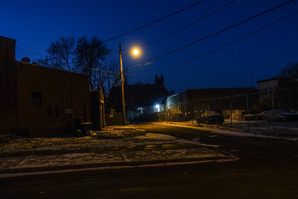 Michael_Bach_ Early morning, Church Street Alley and Adams Street, Troy, New York, December 2017.jpg