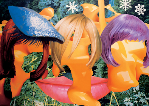 ©Jeff Koons Easyfun-Ethereal, Hair with Cheese