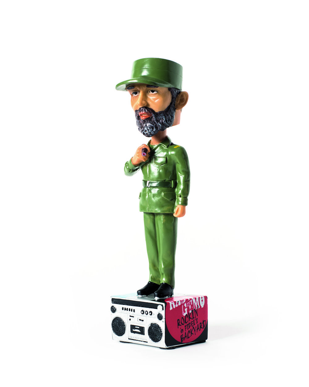 Fidel Bobblehead ($20) © Debi Cornwall