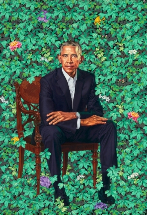 Kehinde Wiley / Smithsonian National Portrait Gallery
