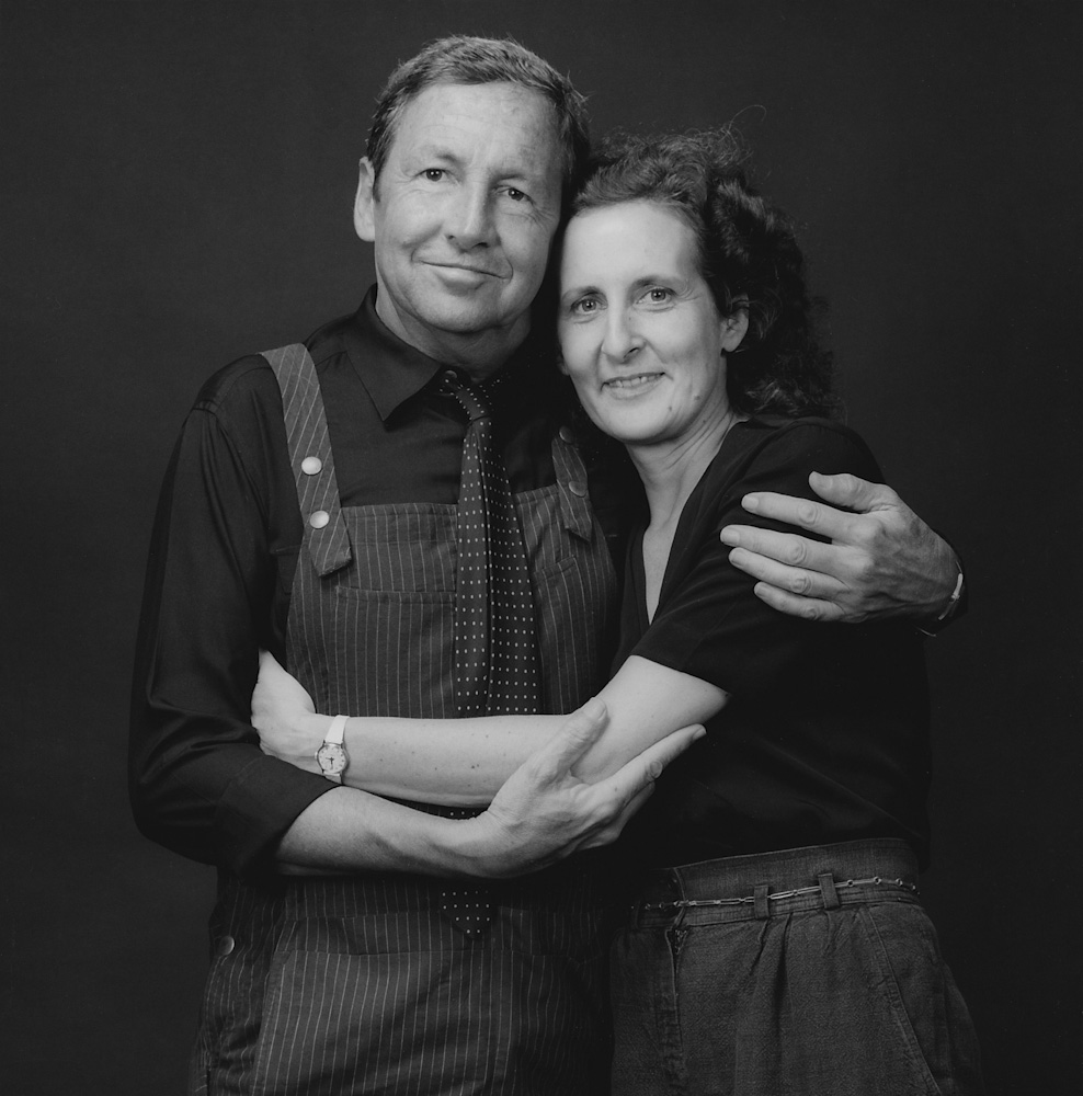 Robert Rauschenberg and Trisha Brown, 1983 © Robert Mapplethorpe Foundation. Used by permission.
